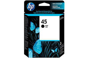 HP Genuine 45 Ink Cartridge Black (830 Pages)