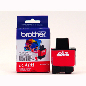 Brother Genuine Ink Cartridge For DCP, Intellifax and MFC Fax Units Magenta (400 Pages)