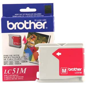 Brother Genuine Ink Cartridge For DCP, Intellifax and MFC Fax Units Black (400 Pages)