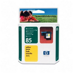 HP Genuine 85 Printhead Yellow