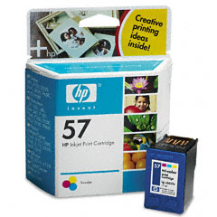 HP Genuine 57 Ink Cartridge Tri-Color (500 Pages)
