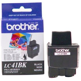 Brother Genuine Ink Cartridge For DCP, Intellifax and MFC Fax Units Black (500 Pages)