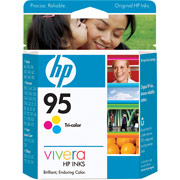 HP Genuine 95 Ink Cartridge Tri-Color (330 Pages)