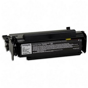 Lexmark 12A4715 Compatible Black High Yield Toner Cartridge