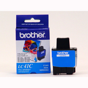 Brother Genuine Ink Cartridge For DCP, Intellifax and MFC Fax Units Cyan (400 Pages)
