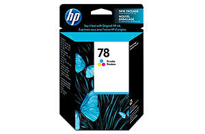 HP Genuine 78 Ink Cartridge Tri-Color Standard Yield (450 Pages)